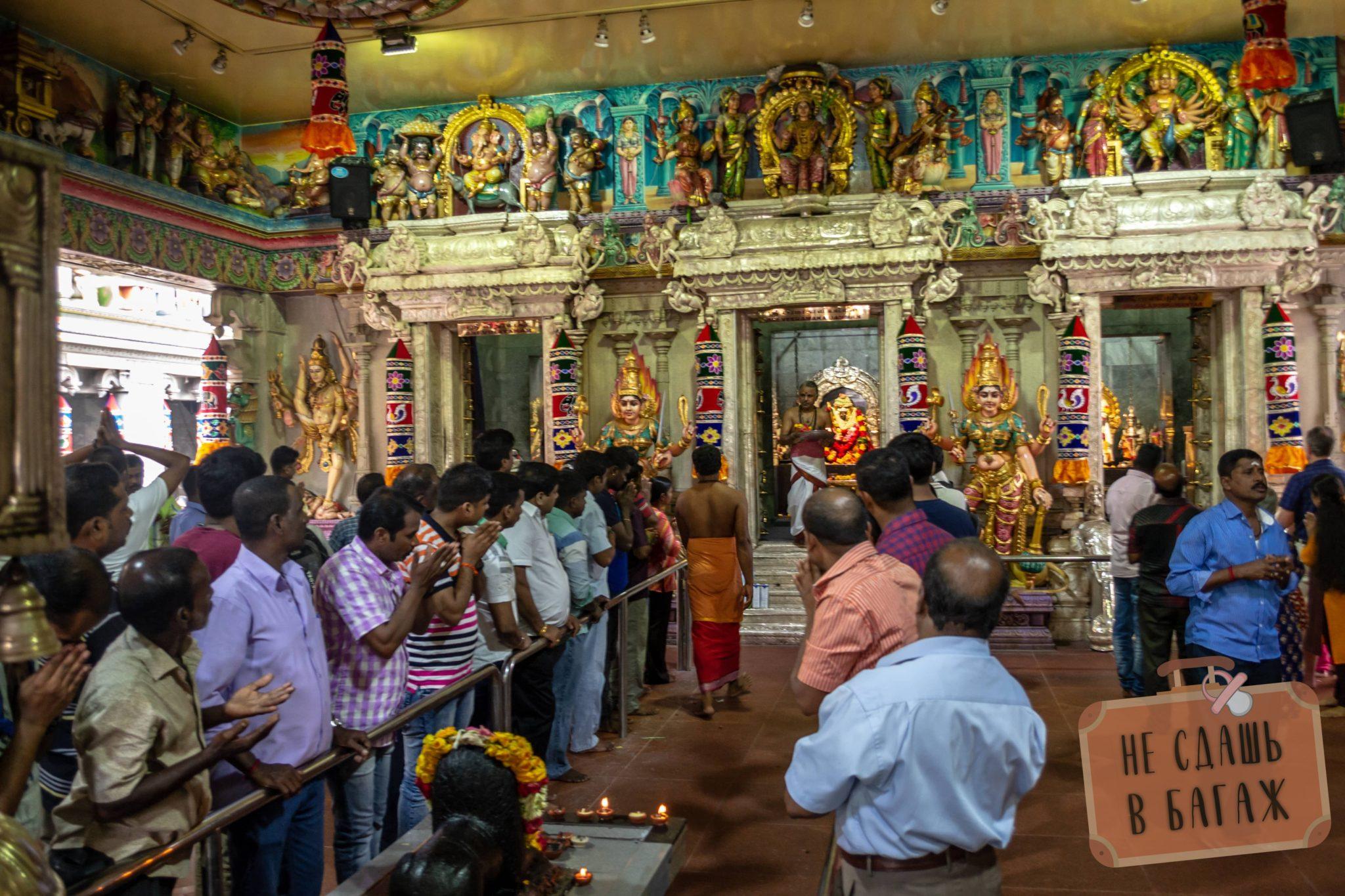 индуистский храм Sri Veeramakaliamman Temple
