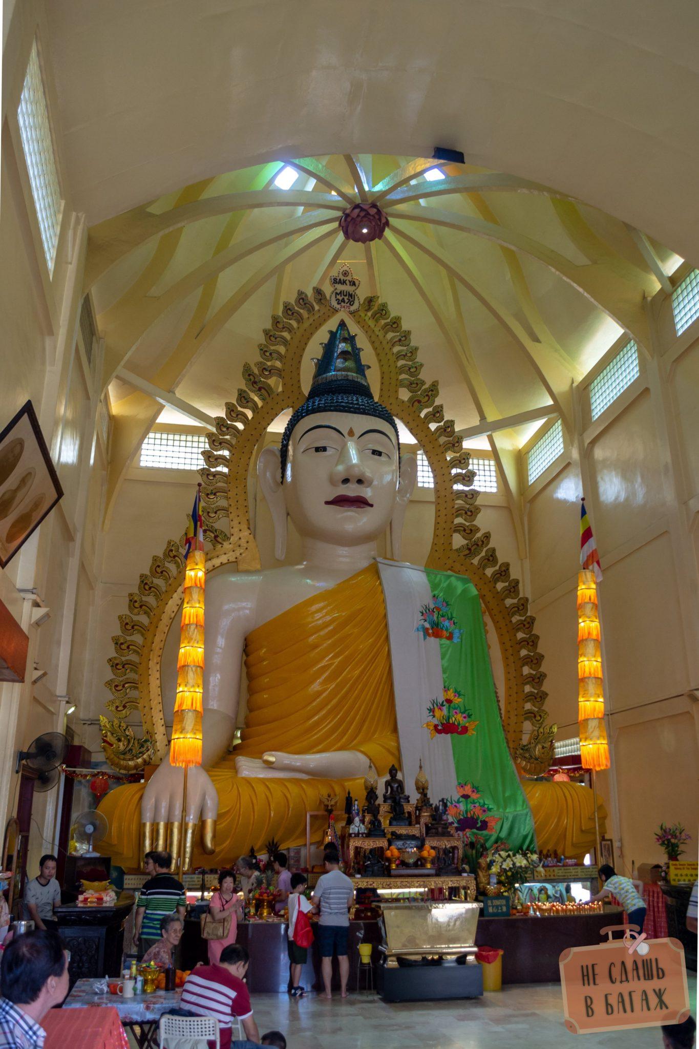 буддийский храм – Sakya Muni Buddha Gaya Temple