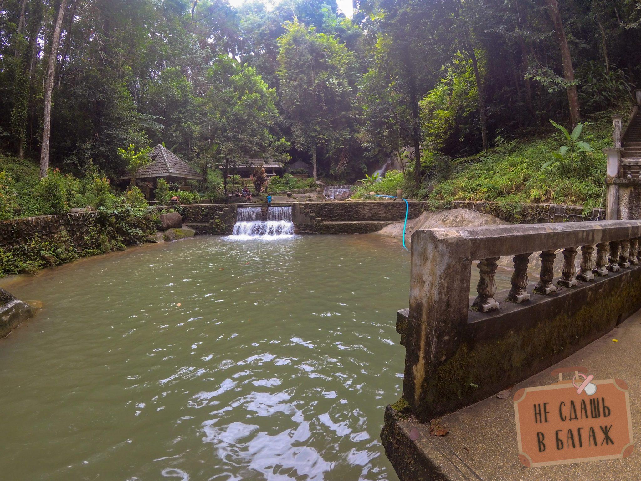 второй уровень водопад Кату