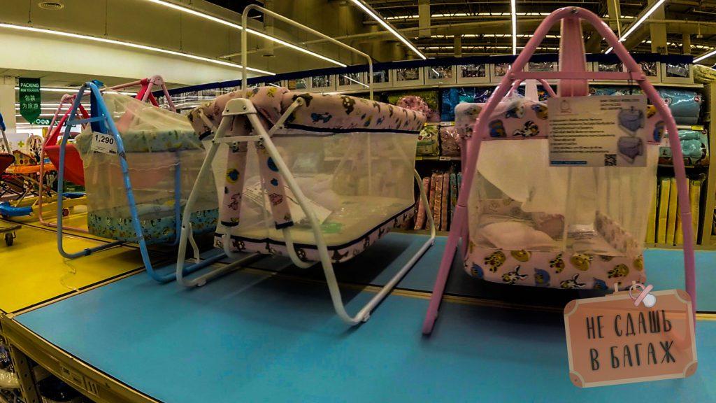 Кроватки для малышей в Таиланде