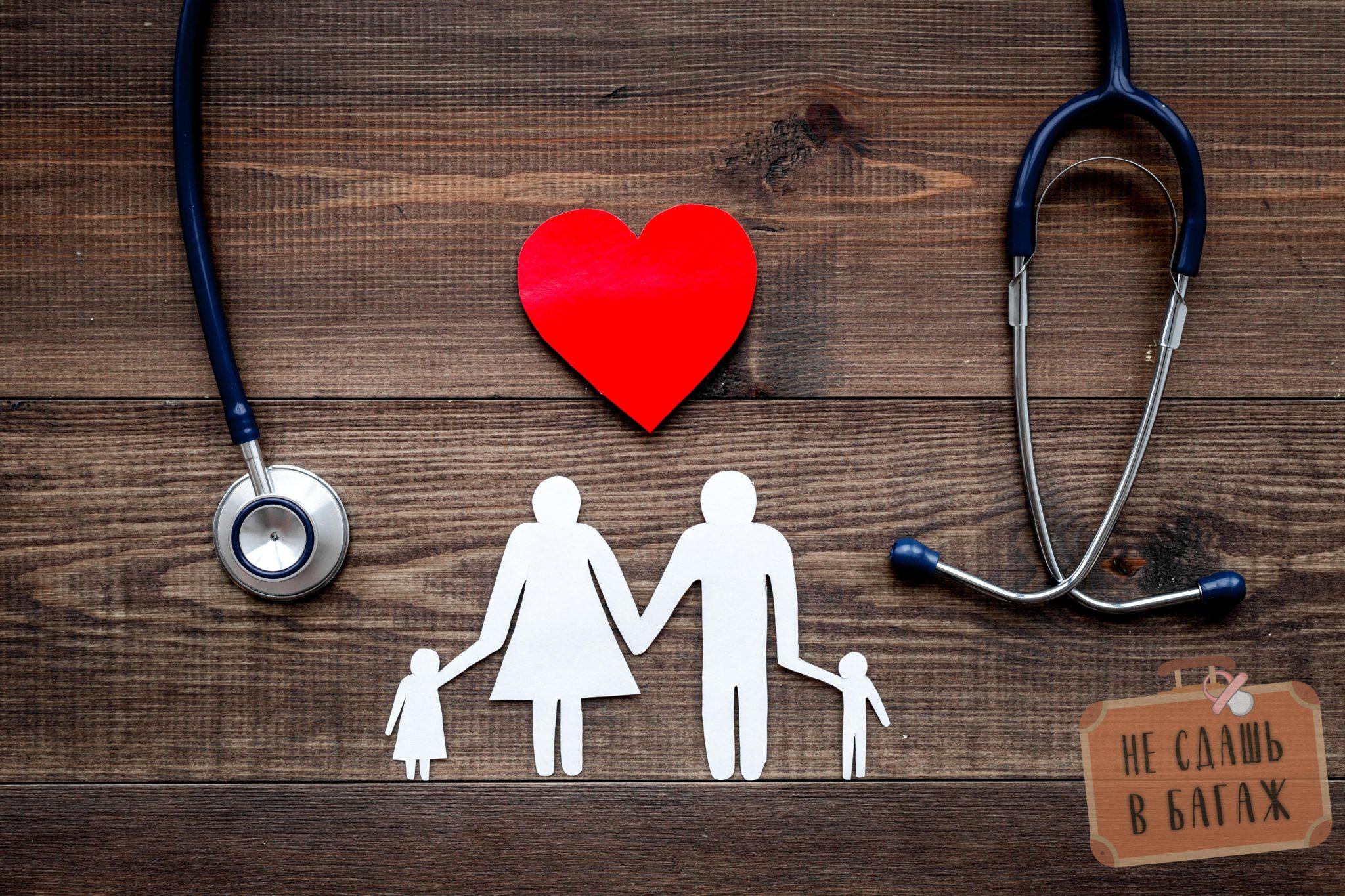 выбрать медицинскую страховку