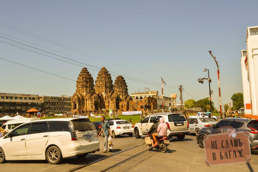 Храм обезьян в Таиланде