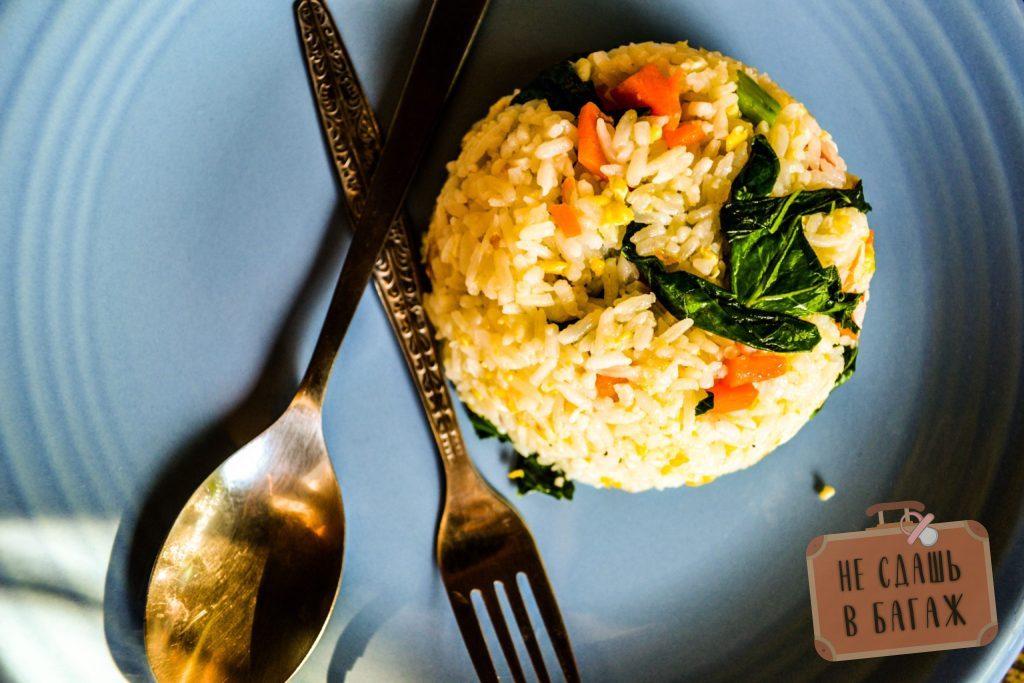 Как правило, готовили рис с овощами