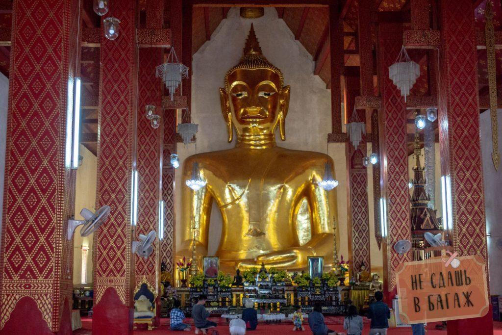 Статую Будды в Пхаяо
