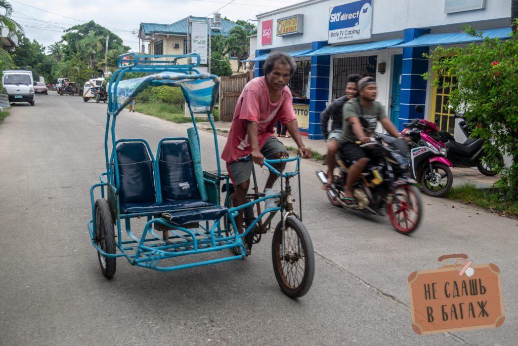 Велотрицикл на Филиппинах - о. Бантаян