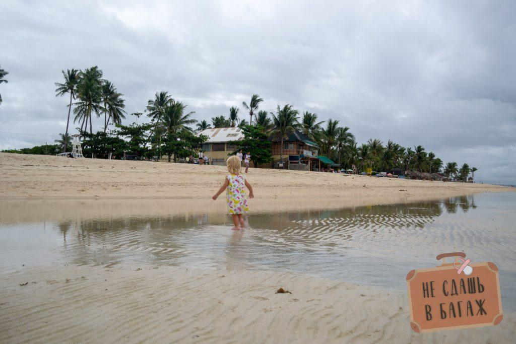 Пляж Кота Бич на Бантаяне