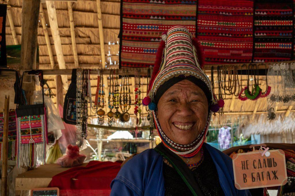 Женщина из народа Лаху