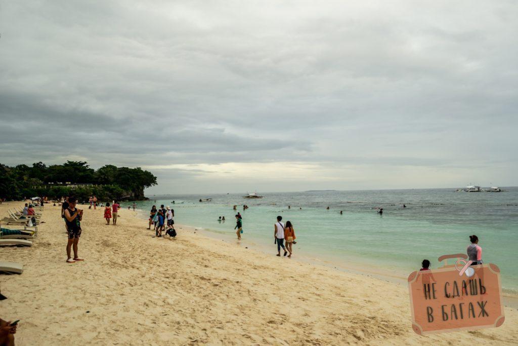 Пляж Алона Бич на Панглао