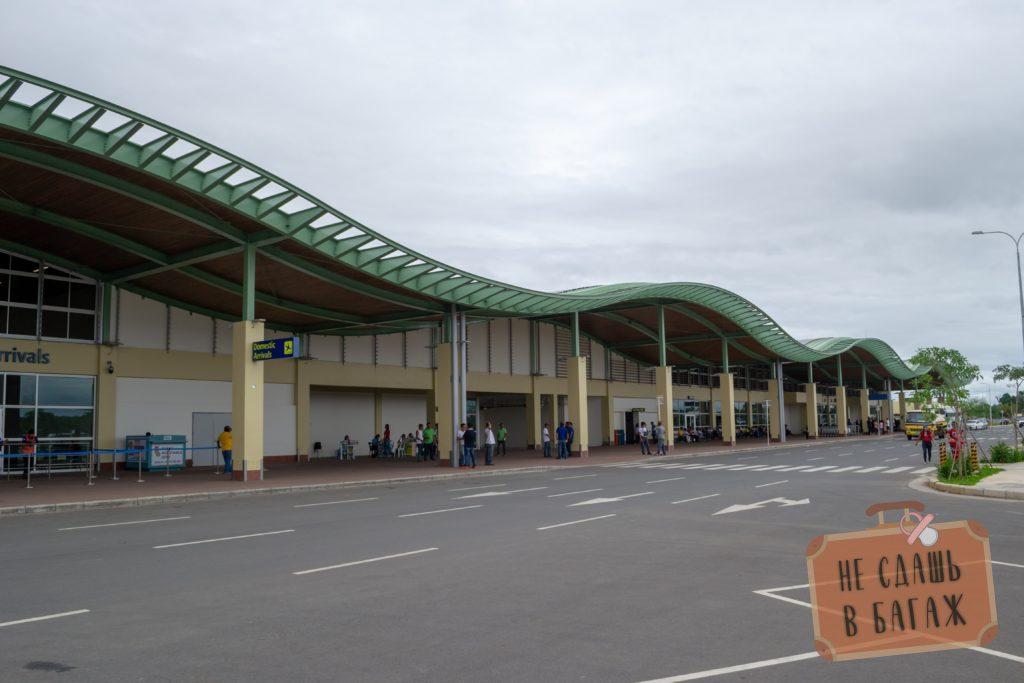 Новенький аэропорт Панглао - первый эко-аэропорт на Филиппинах =)