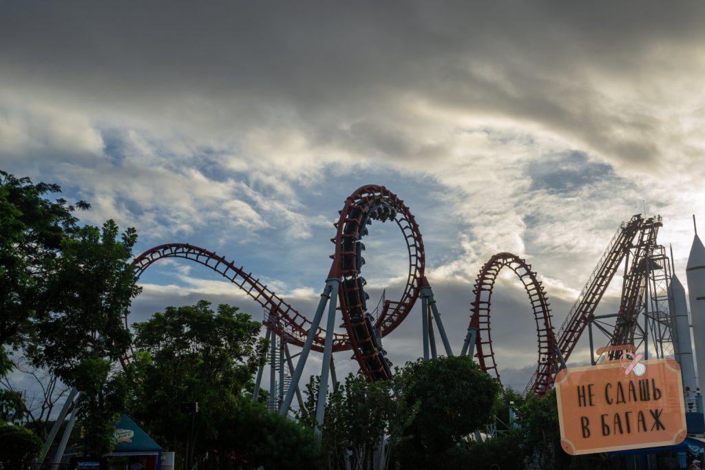 Американские горки в Enchanted Kingdom, Манила