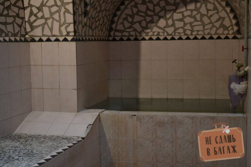 бассейн в бане гуло