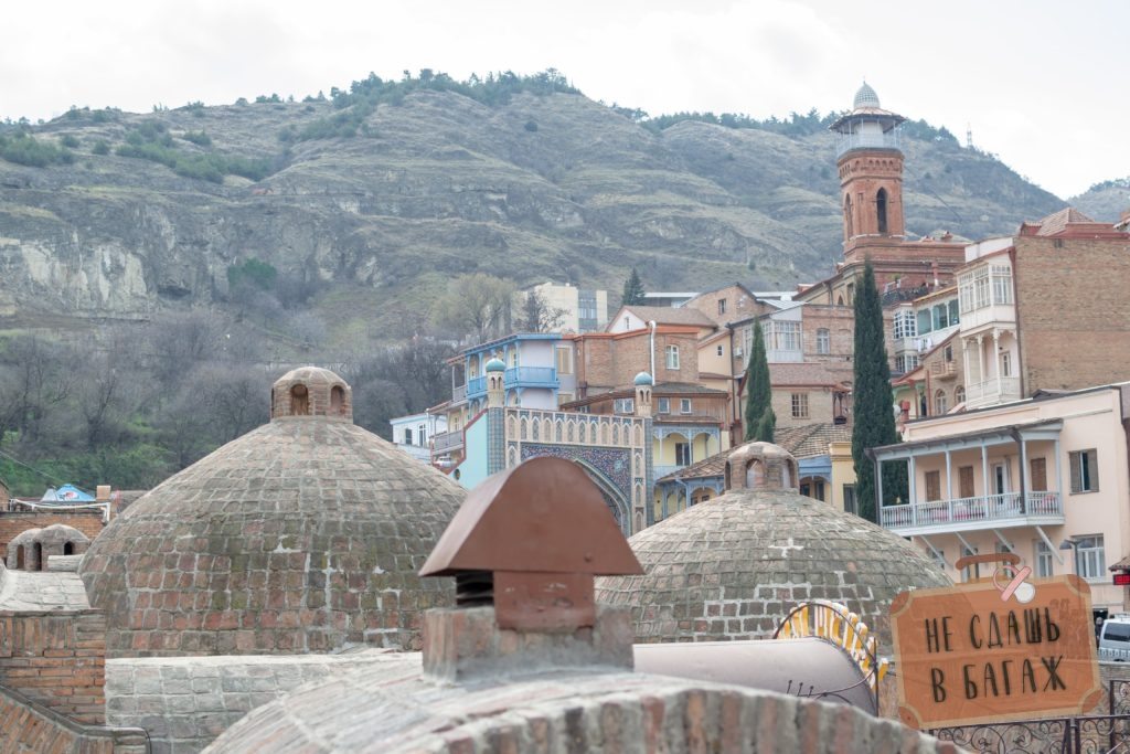 Серные бани в Тбилиси