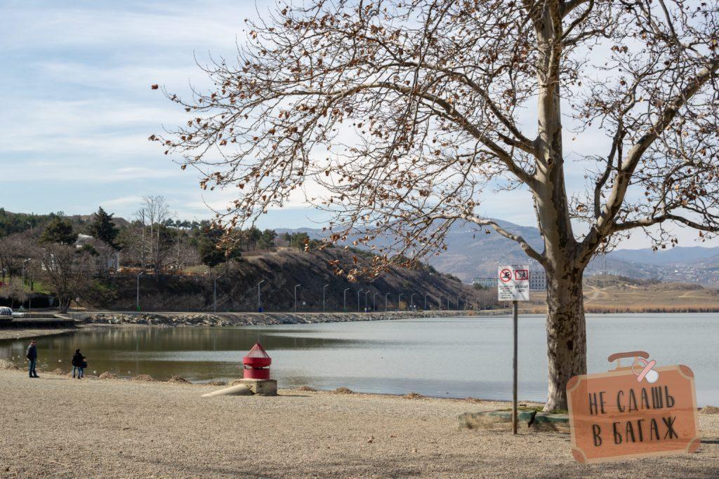 Озеро Лиси - хорошее место для прогулок