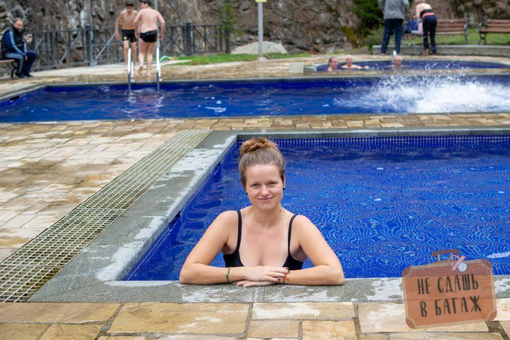 В серной ванне в Боржоми