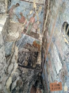 Фрески в Вардзии