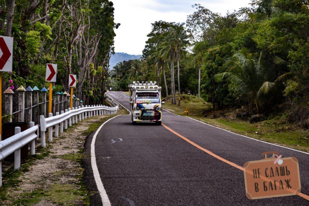 Пустые дороги и колоритные джипни