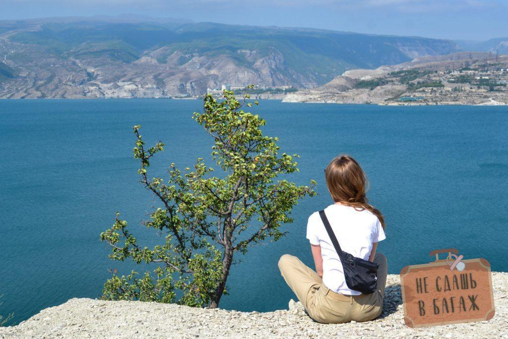 Чиркейское водохранилище, с экскурсией долго не посидишь