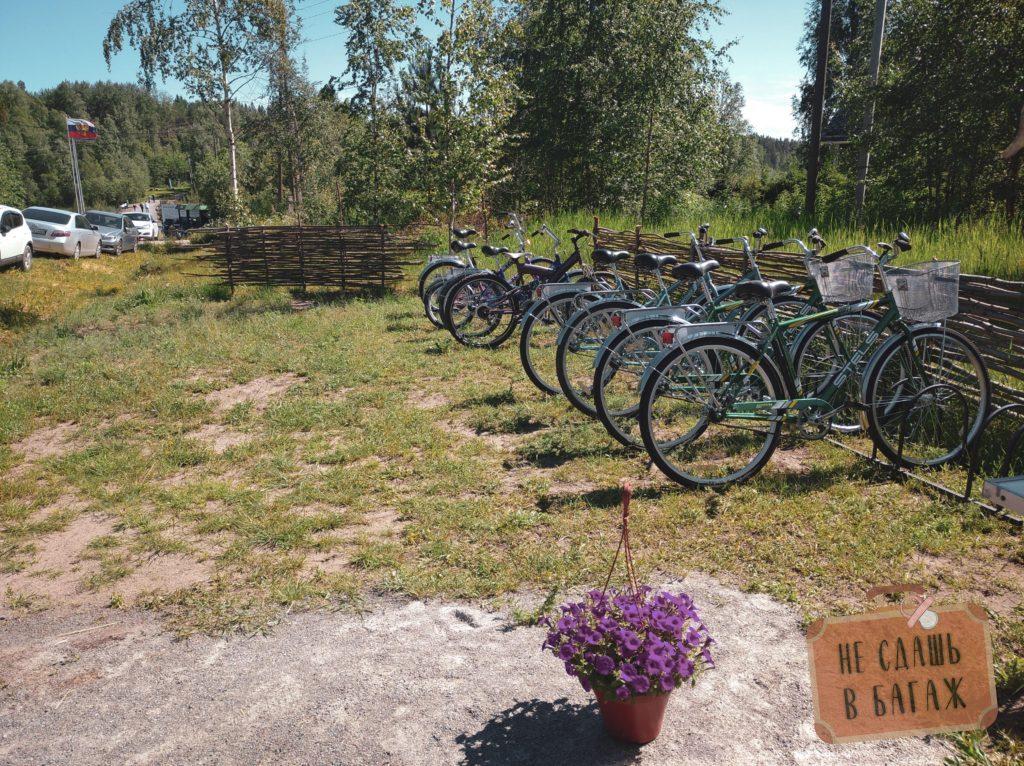 Аренда велосипедов на Койонсаари