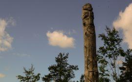 идолы у протосаамского лабиринта