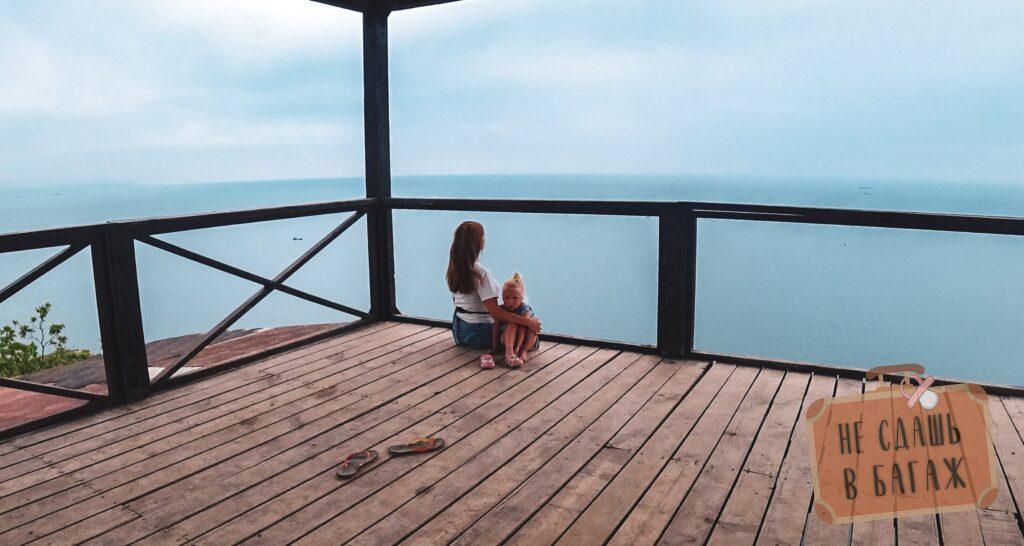 Наслаждамся морем и корабликами в доме йоги в Абрау-Дюрсо