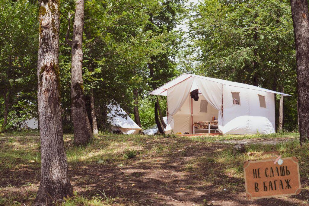 "VIP палатка кемпинга ""На высоте"""