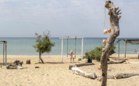 Песчаные пляжи бугазской косы