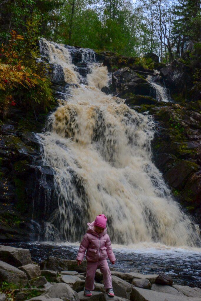 Самый высокий водопад в Карелии